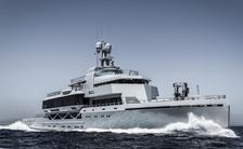 Explorer yacht BOLD offers charter opportunity in the Mediterranean