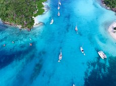 10 Of The Best Anchorages In The Caribbean